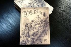 独立漫画   Tiny Pencil IV: Death & Resurrection