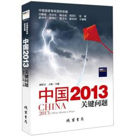 中国2013:关键问题