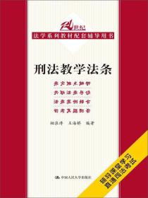 刑法教学法条/21世纪法学系列教材配套辅导用书