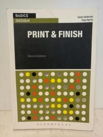 Basics Design : Print and Finish by Gavin Ambrose and Paul Harris (设计) 英文原版书