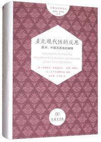 多元现代性的反思:欧洲、中国及其他的阐释/文明与世界译丛