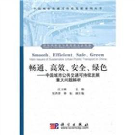 中国城市交通可持续发展系列丛书:畅通、高效、安全、绿色:中国城市公共交通可持续发展重大问题解析