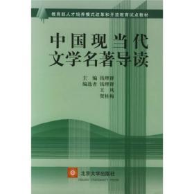 旧书P5中国现当代文学名著导读/教育部人才培养模式改