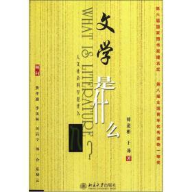文学是什么 傅道彬于茀 北京大学出版社 9787301054093