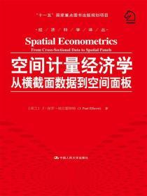 """空间计量经济学:从横截面数据到空间面板/经济科学译丛;""""十一五""""国家重点图书出版规划项目"""