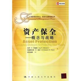 资产保全——概念与战略(工商管理经典译丛·财务与金融管理系列)