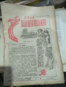 南宁晚报 凤凰增刊 第一期  1980年12月