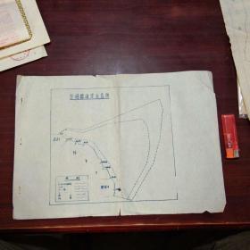 崇明县海涂示意图(8开油印)