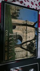 ROMA COLOURS OF TIME【外国古建筑摄影画集】精装 横大16开