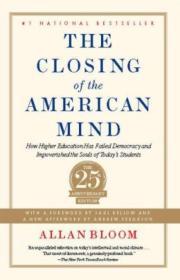 [全新进口原版现货]美国精神的封闭Closing of the American Mind9781451683202