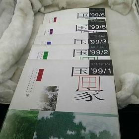 国画家 中国画双月刊   5本 99/1  99/2    99/3   99/5   99/6 (总第   37  38  39  40  42期) 天津人民美术出版社