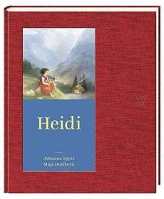 德文 德语小说 Heidi 海蒂 瑞士儿童文学 约翰娜·斯比丽 彩色插图 精装硬皮 德国原版