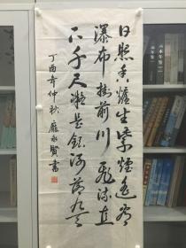 庞永贤 行草 114*50cm p1207-107