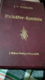 J.V.WIDMANN Maikafre-komodie  清晚期外文原版