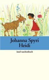 德文 德语小说 Heidi: Heidis Lehr- und Wanderjahre 海蒂 瑞士儿童文学 约翰娜·斯比丽 彩色插图 精装硬皮 德国原版