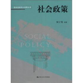 服务型政府大视野丛书:社会政策