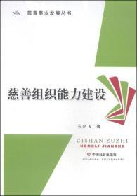 慈善事业发展丛书:慈善组织能力建设