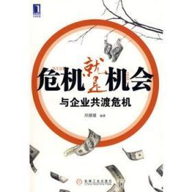 危机就是机会 与企业共渡危机 正版 邓嫒嫒著 9787111264934 机械工业出版社 正品书店