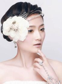 风尚新娘:影楼化妆造型实例教程