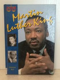 马丁·路德·金传 Christine Hatt :Martin Luther King by Christine Hatt ( 美国黑人 ) 英文原版书