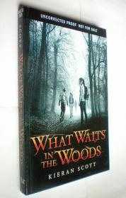 *What Waits in the Woods (平装原版外文书)