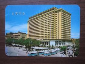 1976年北京饭店年历卡(上海人民出版社)
