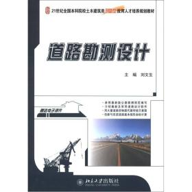 二手道路勘测设计刘文生北京大学出版社9787301174937