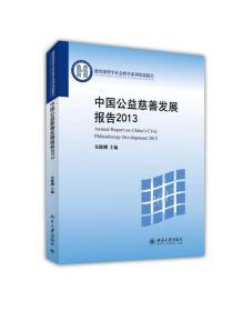中国公益慈善发展报告2013