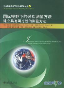 社会科学视角下的残疾研究丛书(4)·国际视野下的残疾测量方法:建立具有可比性的测量方法
