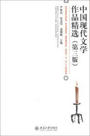 二手正版中国现代文学作品精选 第三3版 严家炎 北京大学出版社9787301216514