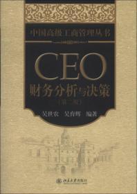 中国高级工商管理丛书:CEO财务分析与决策(第2版)