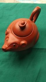 紫砂壶【小老鼠手把壶2种颜色可选】