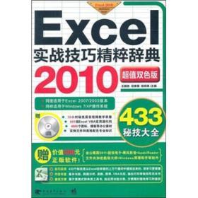 Excel 2010实战技巧精粹辞典