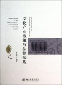 当天发货,秒回复咨询 二手 文化产业政策与法律法规 黄虚峰 北京大学出版社 正版 如图片不符的请以标题和isbn为准。