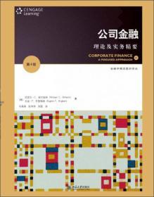 公司金融:理论及实务精要(第4版)