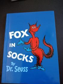 FOX IN SOCKS BY DR.SEVSS 彩绘本