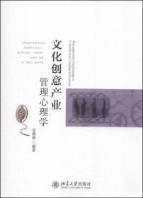 【二手包邮】文化创意产业管理心理学 袁薇薇 北京大学出版社