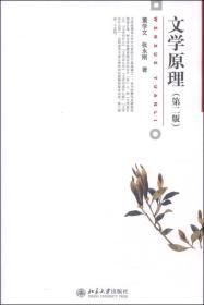 二手正版 文学原理 董学文北京大学出版社9787301237694