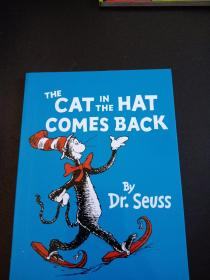 THE CAT IN THE HAT COMES BACK BY DR.SEVSS 彩绘本