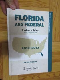 Florida & Federal Evidence Rules: With Commentary     (详见图)