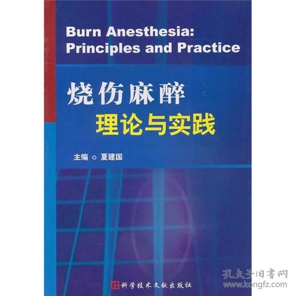 烧伤麻醉理论与实践
