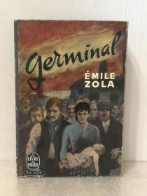 埃米尔•左拉 Émile Zola:Germinal (经典名著) 法文原版书