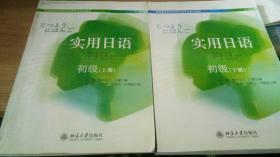 高等教育自学考试日语专业系列教材:实用日语(初级)(上下册光盘