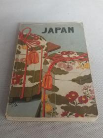 英文原版书《JAPAN日本》1册——内附地图