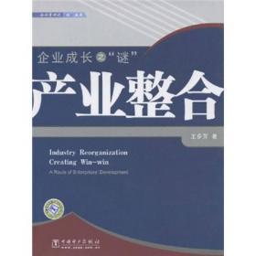 正版 企业管理之'谜'系列 企业成长之'谜':产业整合 王步芳 中国电力出版社