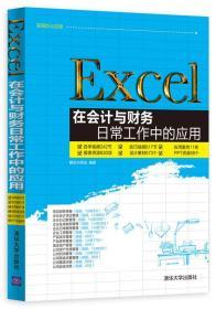 职场办公应用:Excel在会计与财务日常工作中的应用