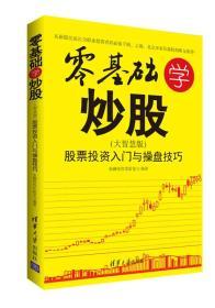 零基础学炒股 大智慧版 :股票投资入门与操盘技巧