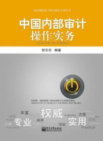 满29包邮 二手中国内部审计操作实务-(从2014年1月1日起执行) 贺志东