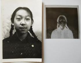 女学生照片(带底片)