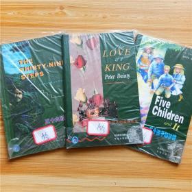 包邮3本牛津书虫 三十九级台阶 一个国王的爱情故事 五个孩子和沙精